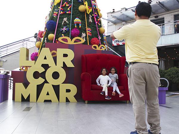Larcomar – Navidad Andino Chic